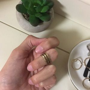 Silpada knuckle ring